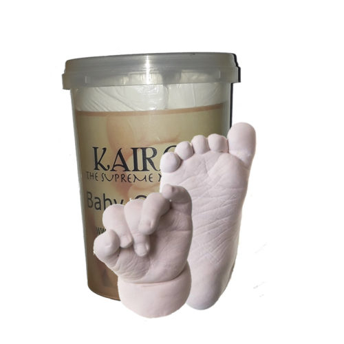 Create a perfect 3D replica of your baby's hand and foot. You will receive: Moulding Powder to make 2 moulds Enough Casting Stone powder to create 2 Casts Full instructions The mould is made and cast in the the supplied tub